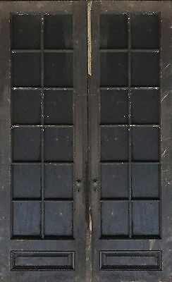 Vintage/Antique Wooden Frame French Door with Glass windows
