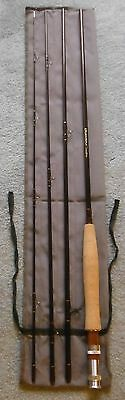"""Dragonfly """"Expedition"""" Graphite 9 Ft. 6 Wt. 4-Piece Travel Fly Rod New"""
