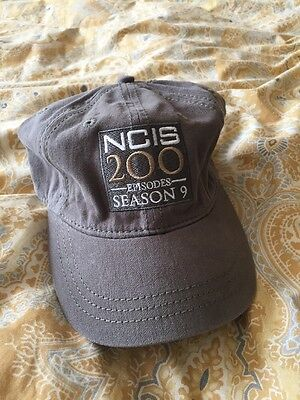 NCIS SEASON 9 200 Episodes CAST AND CREW HAT - VERY COLLECTIBLE
