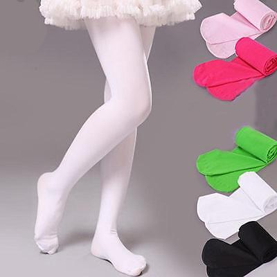 Kids Girls BY Candy Opaque Tights Pantyhose Hosiery Ballet Dance Stockings WH