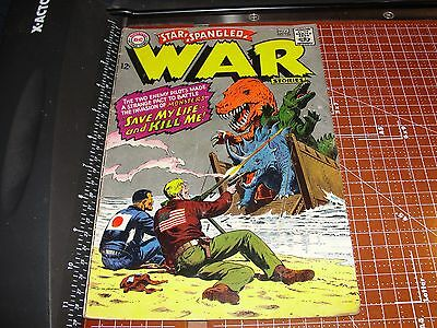 STAR SPANGLED WAR STORIES #135 November 1967 Dinosaur Island - RUSS HEATH art
