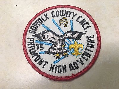 1975 Suffolk County Council Philmont Contingent Patch