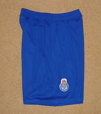 FC PORTO PORTUGESE # 9 NIKE Small Mens Soccer Shorts Blue Pre Owned Clean