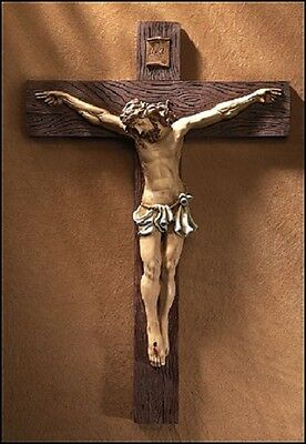"Christian Catholic 31"" Cross Crucifix Home Church Holy Jesus Christ Religious"