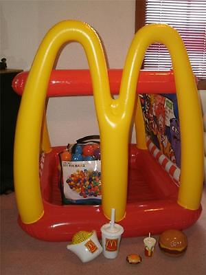 McDONALDS Inflatable Drive THRU PLAY Center  & 100 NEW BALLZ Impossible 2 FIND!