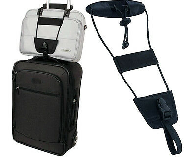 Ohuhu Bag Bungee Add A Bag Strap Attachment System Luggage Suitcase Accessory