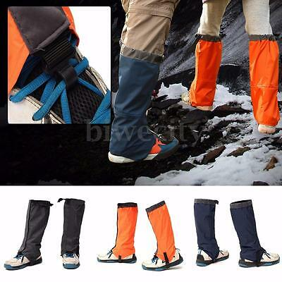 Adult Breathable Outdoor Hiking Climbing Hunting Snow Legging Gaiters Waterproof