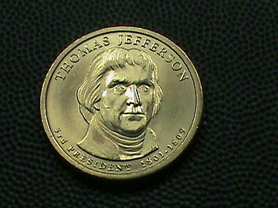 UNITED  STATES   1  Dollar   2007  -  P   BRILLIANT  UNCIRCULATED  ,  JEFFERSON