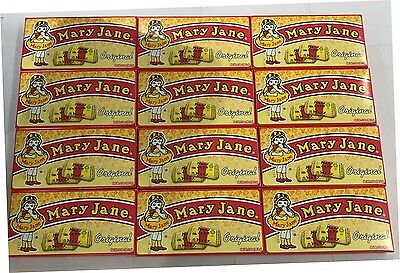 909915 BOX OF 12 x 99.2g THEATRE BOXES OF MARY JANE - MOLASSES & PEANUT BUTTER!