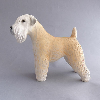 Wheaten Terrier Vintage North Light Dog Figurine Ornament Made in England