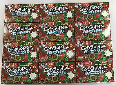 903368 BOX OF 12 x 141.7g THEATRE BOXES OF EVERLASTING GOBSTOPPER SNOWBALLS