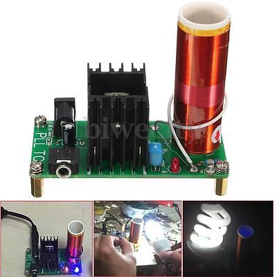 Tesla Coil Plasma Speaker Kit Electronic Field Music 15W DIY Project Parts New
