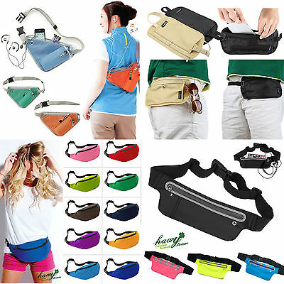 New Bum Bag Fanny Pack Travel Sport Waist Money Belt Pouch SPORTS RUNNING Wallet