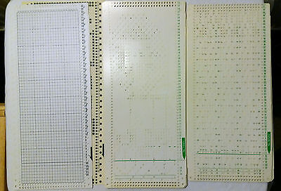 Brother Singer Knitting Machine Parts Toyota Punch Card Patterns Ka436 + 2 Sets
