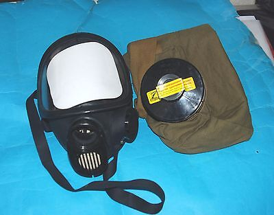 Russian Military New Genuine Panoramic Gas Mask & Filter Exp Stamped 2021
