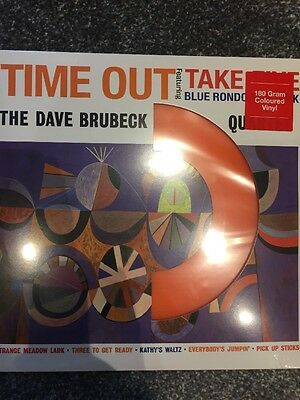 The Dave Brubeck Quartet 'Time Out' 180gram Repress ORANGE Vinyl LP NEW & SEALED