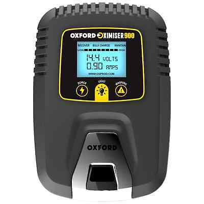 Oxford Motorbike Oximiser 900 Essential Battery Charger Management System