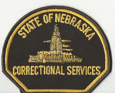 State of Nebraska Correctional Services (Brown)  old cheese cloth back