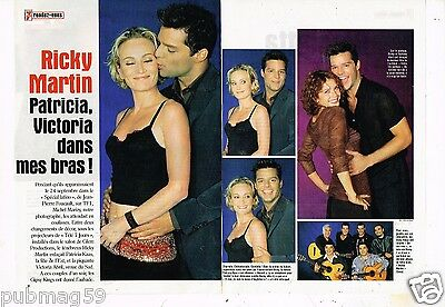 Coupure de Presse Clipping 1999 (2 pages) Ricky Martin