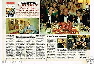 Coupure de Presse Clipping 1992 (2 pages) Frederic Dard