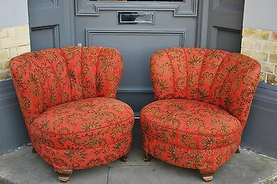 Pair of Sixties Cocktail Chairs