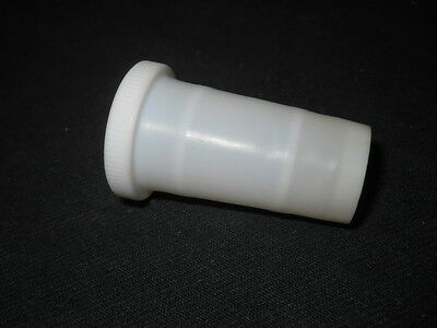 Unbranded 24/40 Joint Ribbed PTFE Sleeve with Grip Ring, 0.5mm Thick