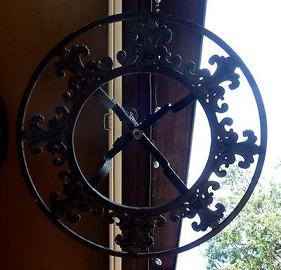 Antique Wrought Iron Chandelier Vintage Steampunk Dungeon Project