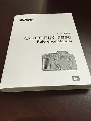 Nikon Coolpix P530 Reference/User's Manual Guide Book Brand New. Never Used