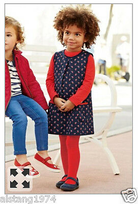 BNWT NEXT  Size 3-4 Years (104cm) Quilted Print Pinafore & T-shirt Set