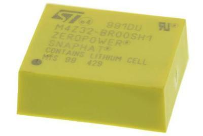 1 x STMicroelectronics M4Z32-BR00SH1, Battery Backup IC Lithium-Ion 2.8 V 4-Pin
