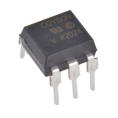 10 x Vishay CQY80N DC Input Phototransistor Output Optocoupler, 6-Pin