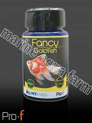 NT LABS PRO-F FANCY GOLDFISH 50g FISH FOOD, BOWL, AQUARIUM COLD WATER TANK