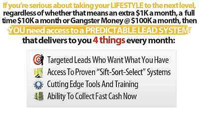 System Has Thousands Of MLM Leads And Generates, $100, $300 And $600 payments