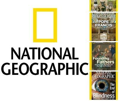 Nat Geo Wild National Geographic Magazine 14 Different Editions--U Choose