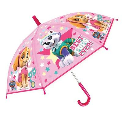 "Children's Official Licensed Girls Paw Patrol 24"" Umbrella Brand New"