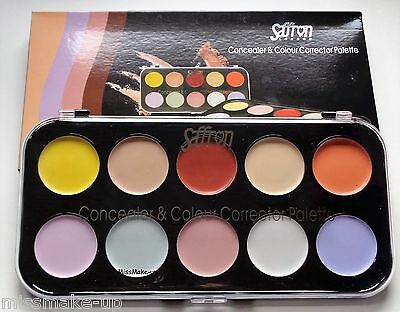 Saffron Concealer & Colour Corrector Palette Green Pink Lavender Yellow Orange