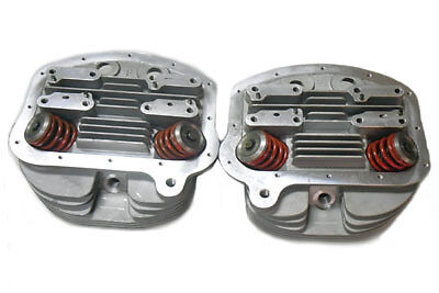 "V-Twin 10-1139 - Panhead Cylinder Heads 3-5/8"" Big Bore"