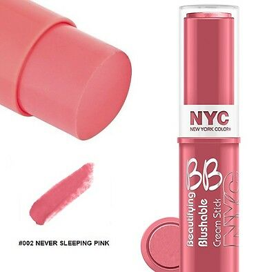Cream to Powder Blusher by NYC New York Color BB Beautifying Blushable