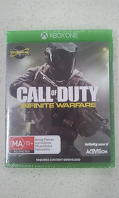 Call of Duty COD Infinite Warfare Xbox One Game (New and Sealed)