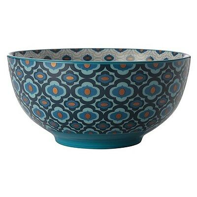Christopher Vine 15.5cm Azure Bowl Dark Blue Brand New
