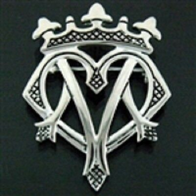 Pewter Luckenbooth Pin/Pendant