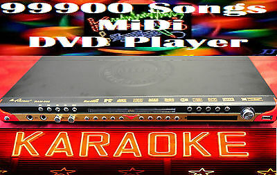New English Tagalog 99000 karaoke Songs MiDi DVD player multi zone*