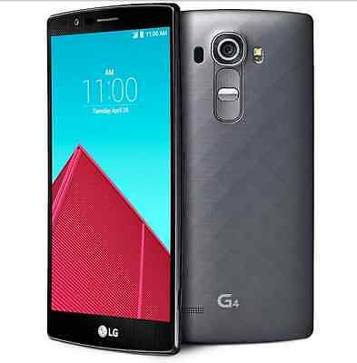 "Grey 4G 5.5""LG G4 H815 32GB 3GB RAM 16.0MP Quad-core Unlocked Android Cellphone"