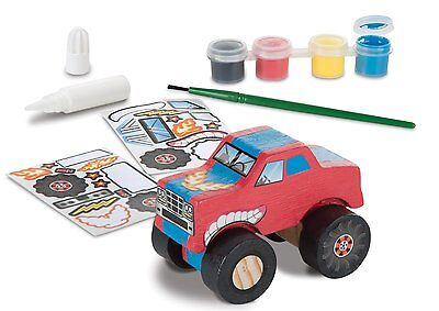 Melissa & Doug Decorate-Your-Own: Wooden Monster Truck