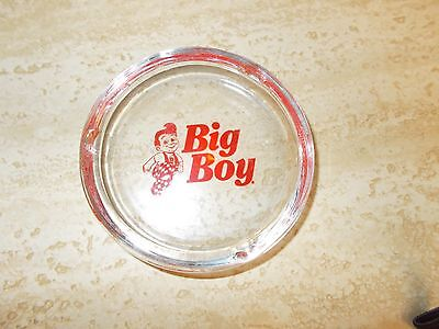 Vintage Big Boy Classic Americana Restaurant Cigarette Ash Tray , NO HAMBURGER