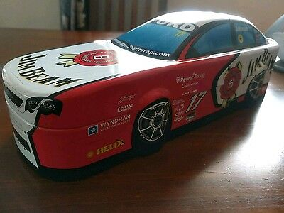 Limited Australian Edition 2007 Jim Beam Racing Bottle and Tin