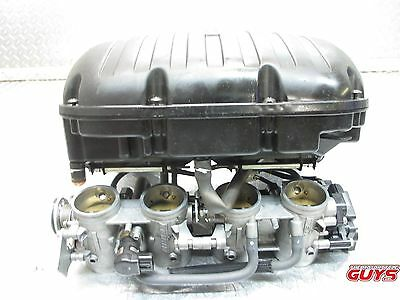 2007 2008 07 08 Suzuki Gsxr1000 Gsxr 1000  Fuel Injection Throttle Bodies Set