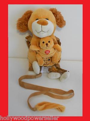 Musical 2 In 1 Kids Toddler Plush Puppy Dog Safety Harness Buddy Leash Backpack