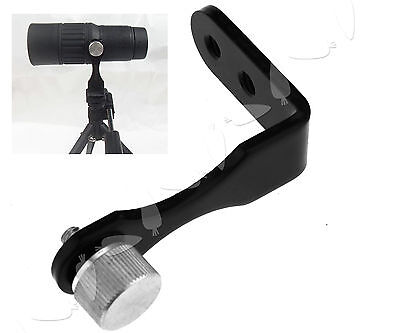 New L-Shape Universal Metal Tripod Adapter Fixing Mounting Binoculars Bracket
