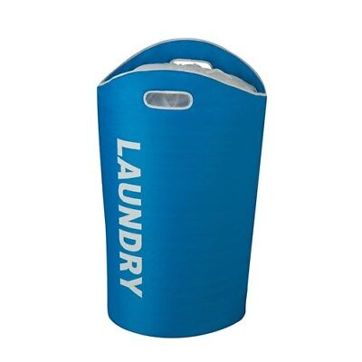 Honey-Can-Do Blue Laundry Tote Brand New